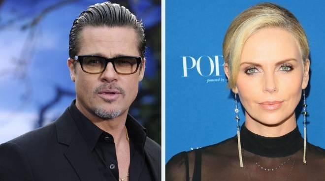 Nuovo amore per Brad Pitt: è Charlize Theron ad averlo conquistato