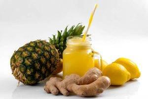 combattere la cellulite con ananas e zenzero