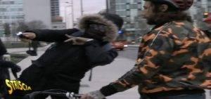 Vittorio Brumotti minacciato