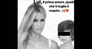 """Elena Santarelli su Instagram con il figlio Giacomo malato: """"Lui, il primo amore"""""""