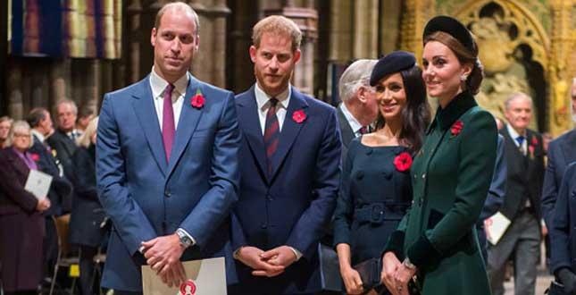"""Harry contro William: """"Non ha mai accettato Meghan"""""""