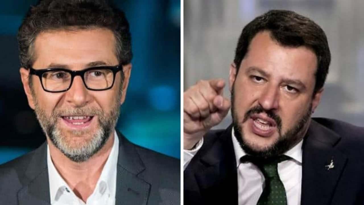 """Fabio Fazio, Matteo Salvini tuona deciso: """" Si porta a casa milioni, ora basta"""""""