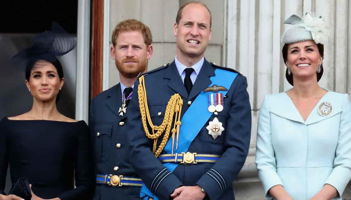 """Meghan e Kate, litigi tra la Famiglia Reale? William confessa: """"Oh si!"""""""