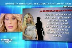 Paola Caruso mamma biologica