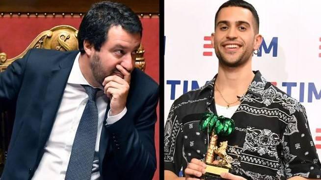 """Sanremo 2019, Matteo Salvini telefona a Mahmood: """"Non ce l'ho con te ma con la giuria"""""""
