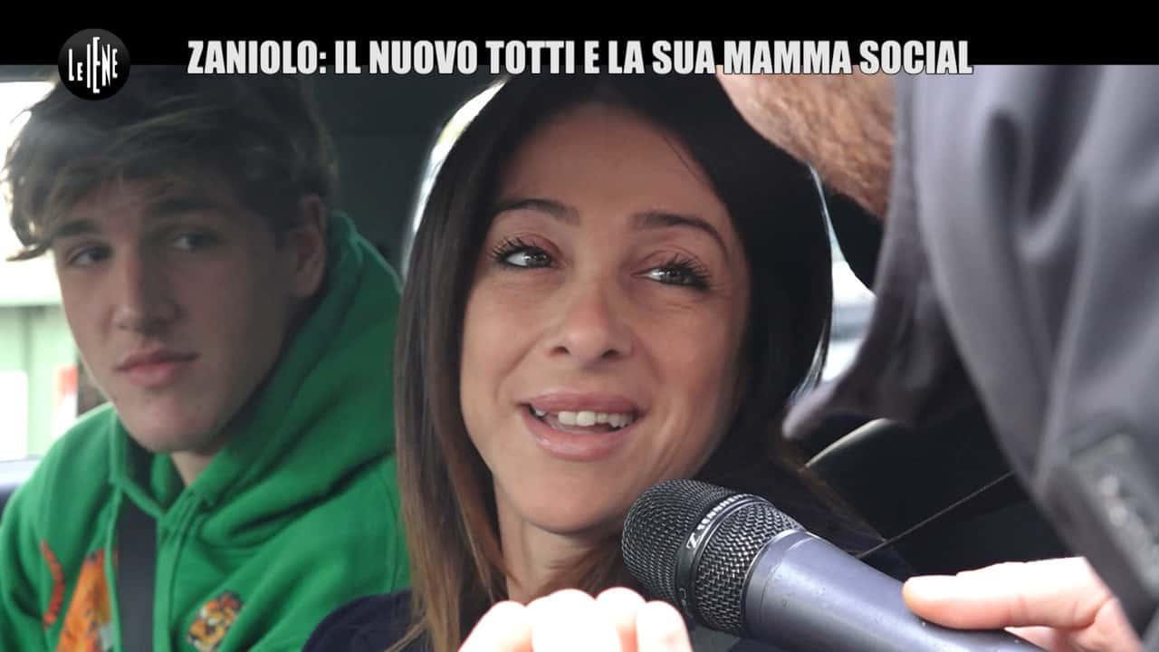 """Zaniolo, la sexy mamma a Le Iene: """"Lo vorrei con Belen Rodriguez"""""""