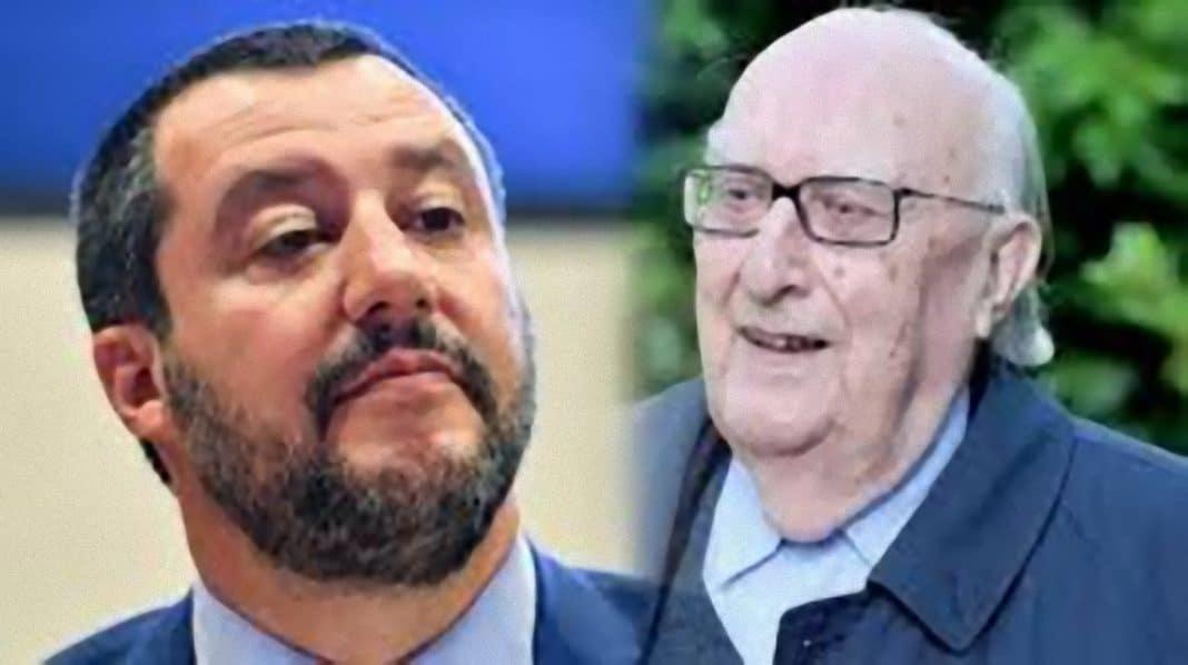 """Matteo Salvini, Andrea Camilleri contro di lui: """"Stiamo tornando indietro!"""""""