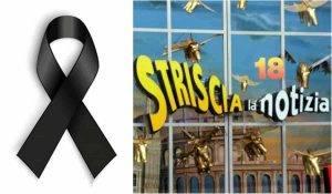 Grave lutto a Striscia La Notizia: il triste addio sui social