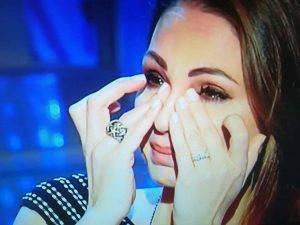"""Anna Tatangelo, in lacrime per la madre """"Guerriera da due anni"""""""