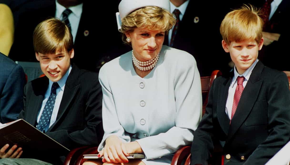 """Lady Diana, il ricordo commovente di William e Harry: """"Siate disubbidienti"""""""