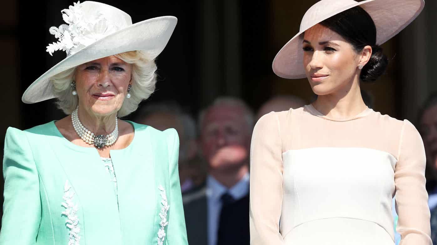 Camilla Parker Kate Middleton Meghan Markle