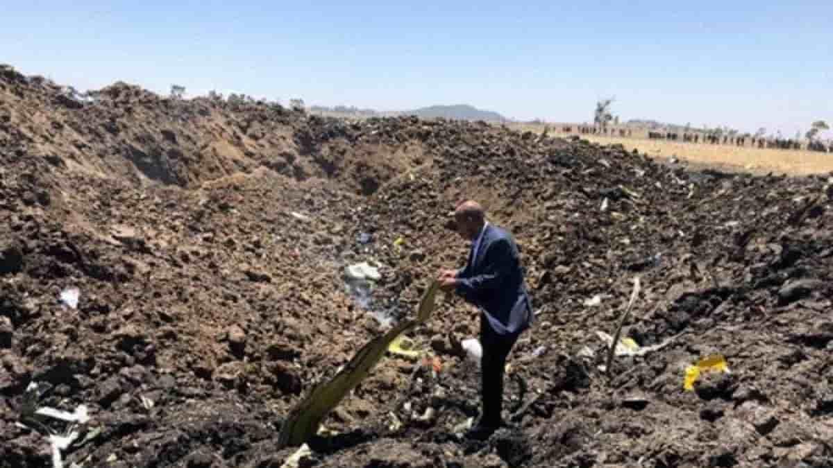 Disastro aereo Ethiopian