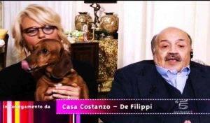 Maria De Filippi, il bassotto Ugo è malato: ha l'epatite