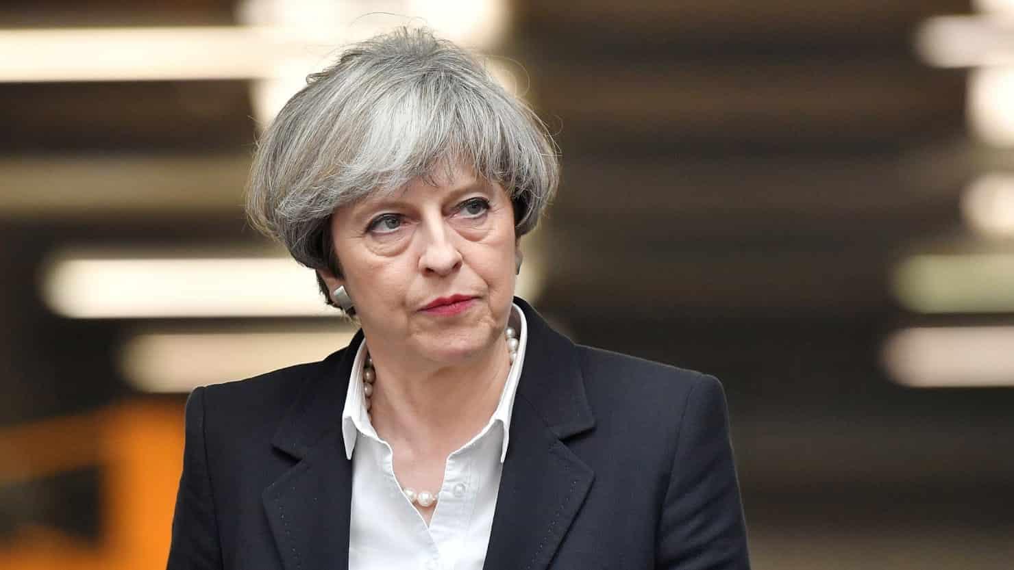 Brexit, Theresa May
