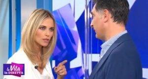 Francesca Fialdini e Tiberio Timperi: la battuta di Mattioli genera imbarazzo