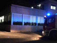 Pescara, incendio