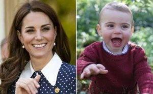 Kate Middleton, paura per il figlio Louis