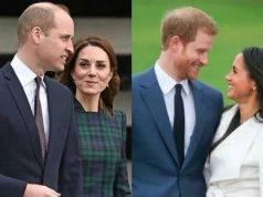 Kate Middleton e Willia contro Harry e Kate
