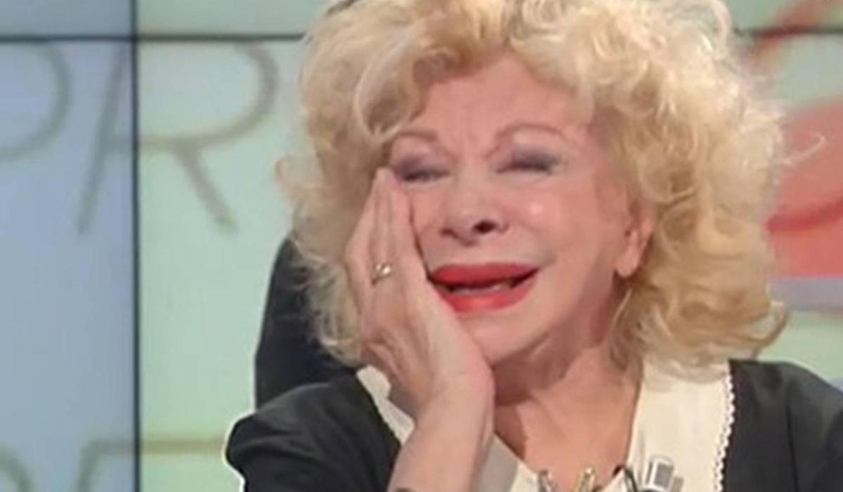 Sandra Milo, la verità sui debiti a Storie Italiane