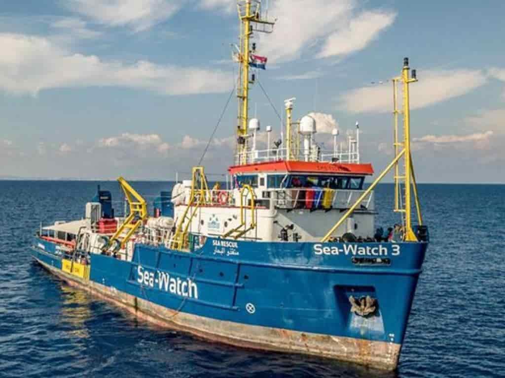 Migranti Sea Watch 3
