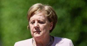 Paura per Angela Merkel