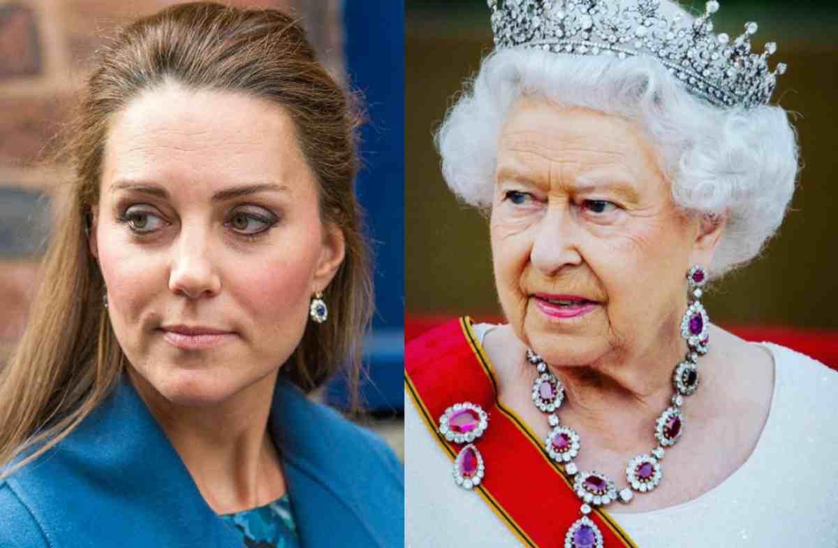 Kate Middleton ed Elisabetta