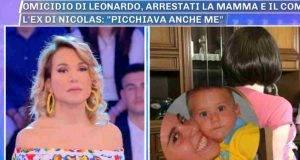Omicidio Leonardo, l'ex compagna dell'assassinio incinta: 'Mi ha picchiata' La confessione a Pomeriggio 5