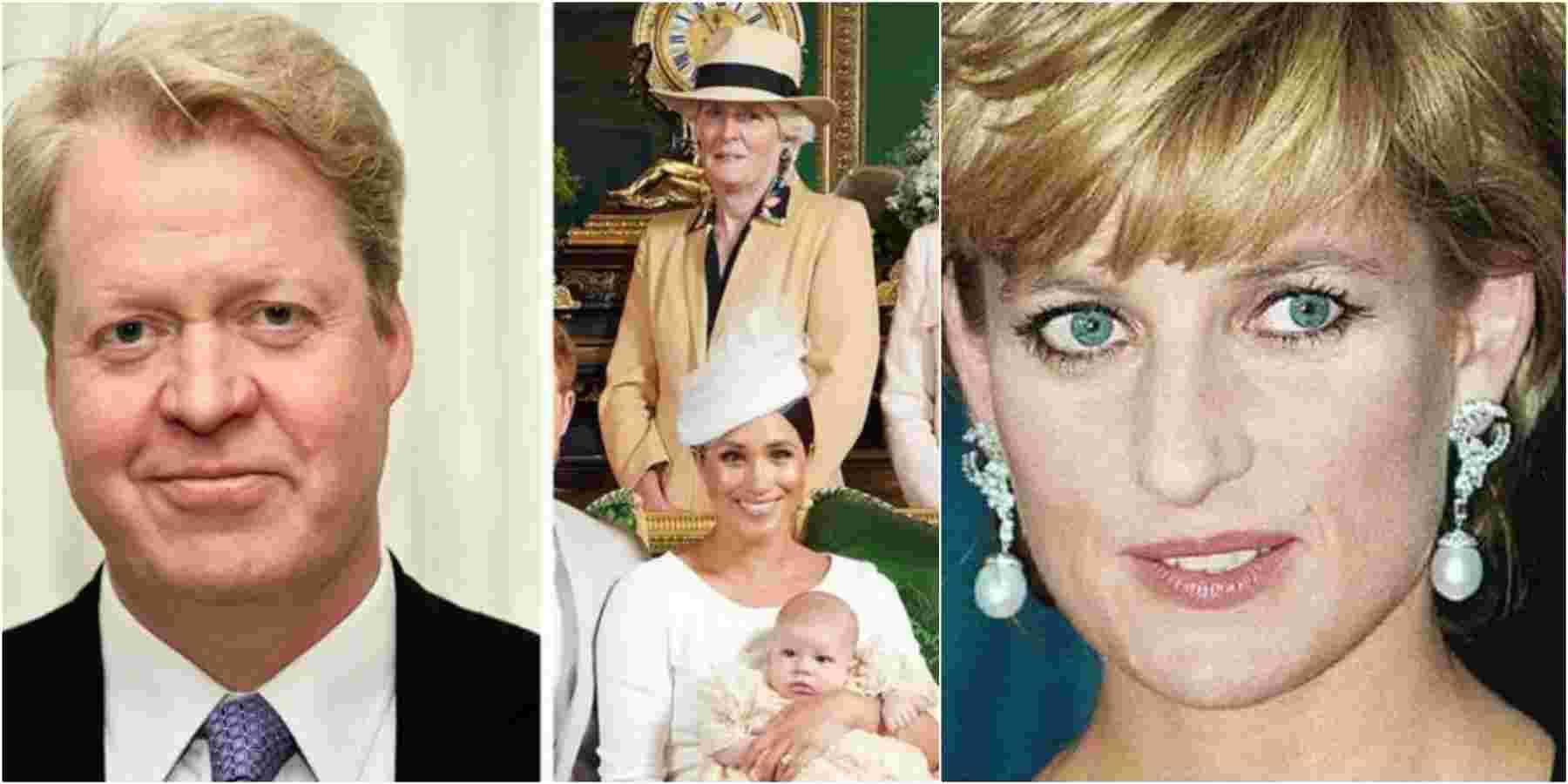 Lady Diana, il fratello escluso dal battesimo
