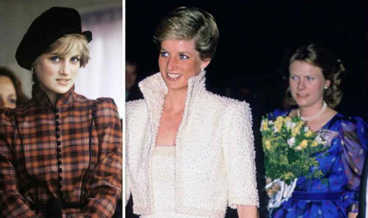Lady Diana e la sua amica d'infanzia