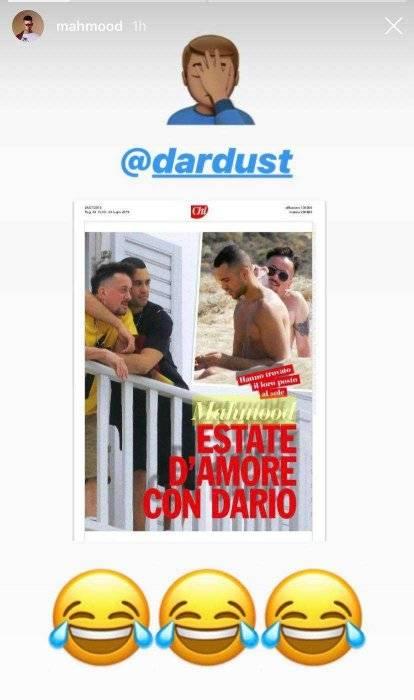 Mahmood e Dario Faini