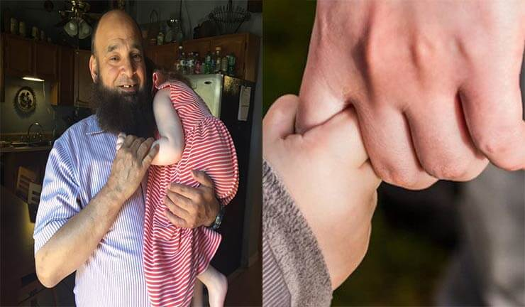 Mohamed Bzeek adotta bambini malati