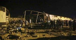 Strage di migranti in Libia