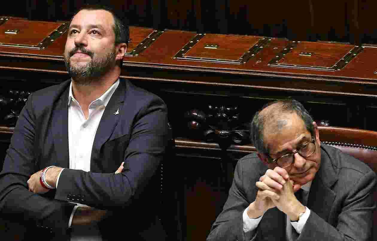 Salvini attacca Tria: