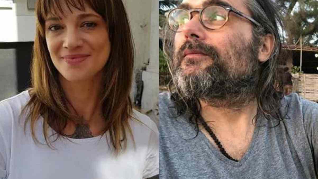 Asia Argento e Yari Carrisi
