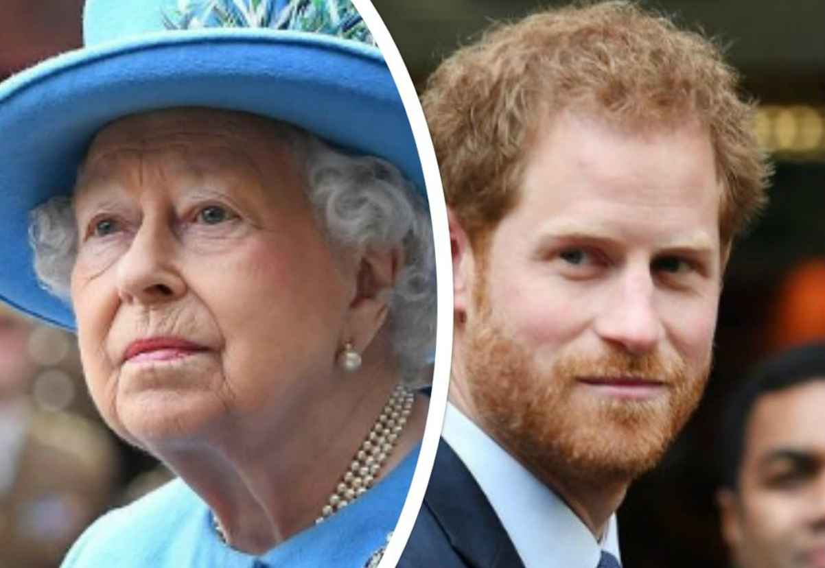 La Regina Elisabetta ed il Principe Harry