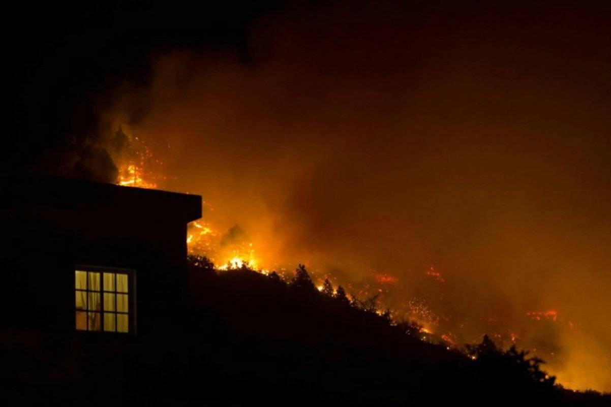 Incendio alle Canarie