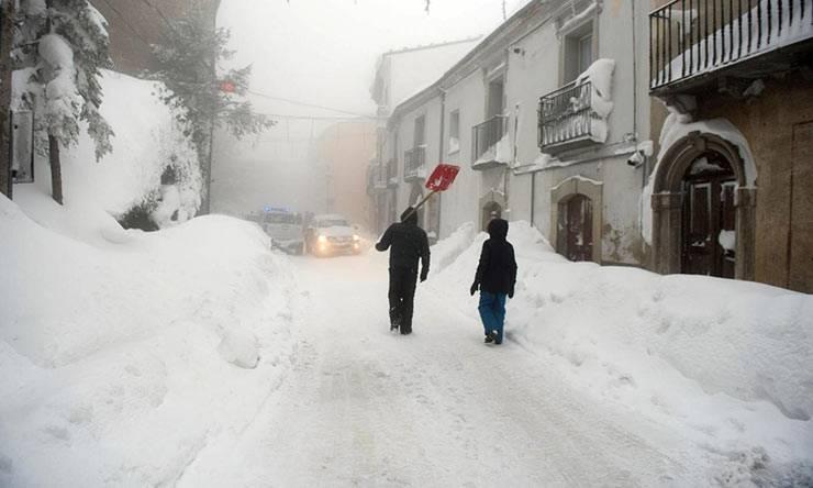 meteo inverno 2019-20 freddo e neve
