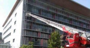 Incendio Ospedale di Bergamo