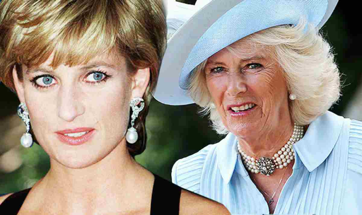 Camilla Parker contro Lady Diana, insulti e offese