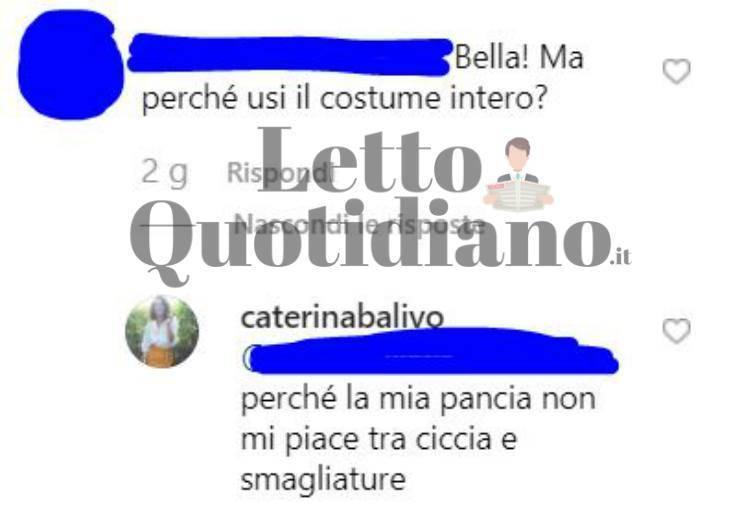 Caterina Balivo usa la panciera per sembrare più magra