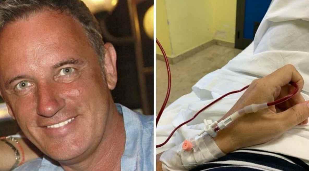 Craig Warwick malato, rara forma di trombosi