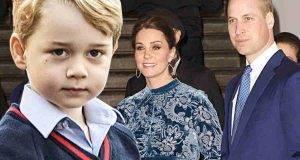 Kate Middleton e William come assecondono George