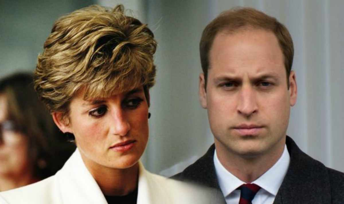 lady diana senza reggiseno, william bullizzato