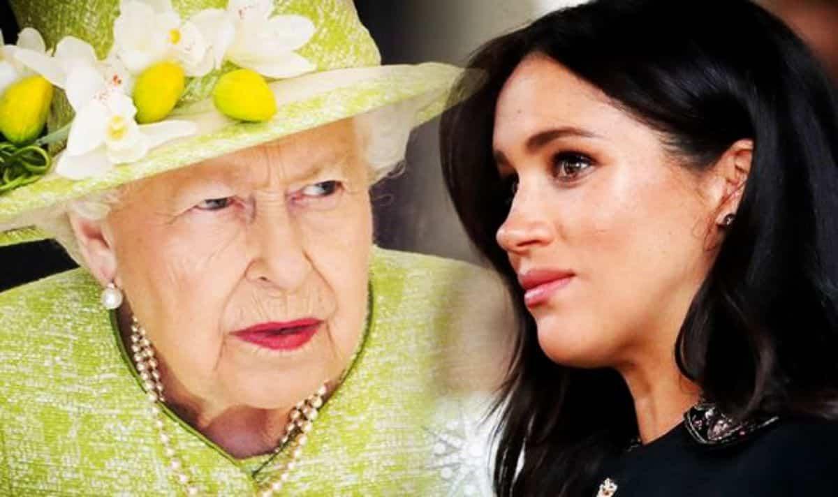 Regina Elisabetta delusa da Meghan Markle