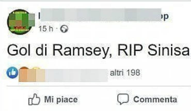 tifosi augurano la morte a Sinisa Mihajlovic, l'allenatore malato di leucemia