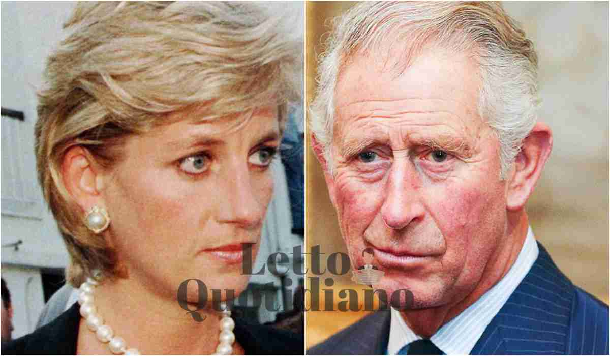 Diana, come scoprì il tradimento di Carlo