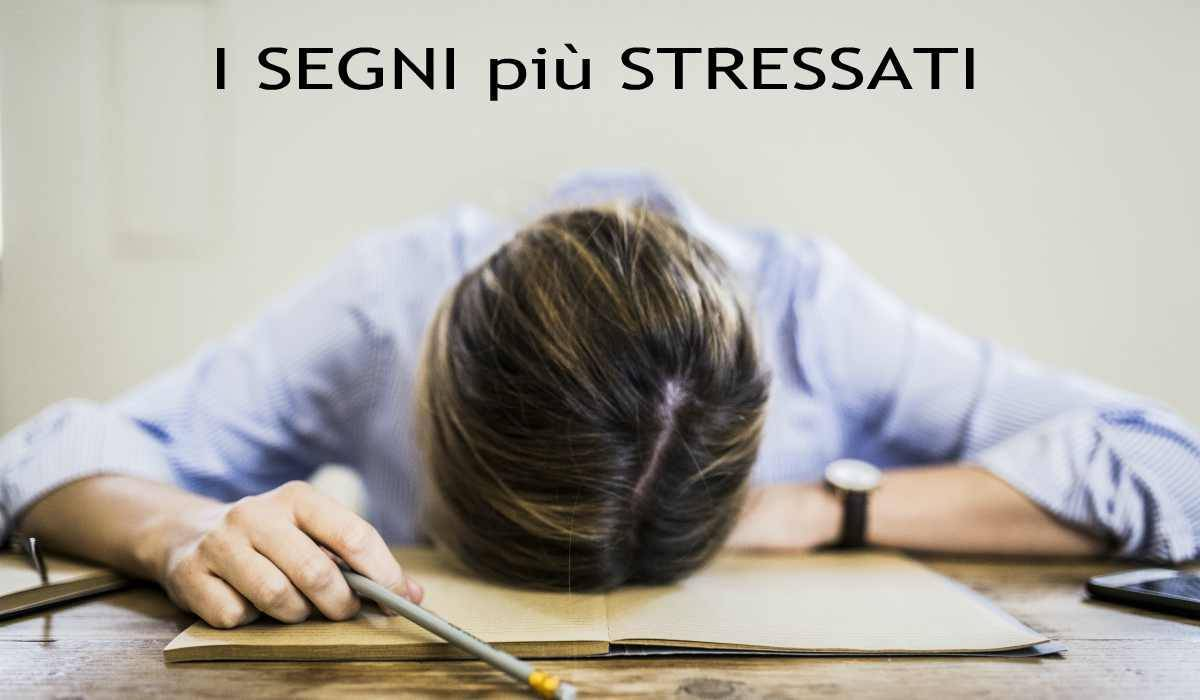 I segni più stressati
