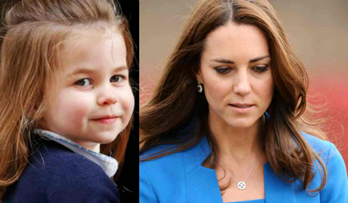 Kate Middleton e il dramma per charlotte