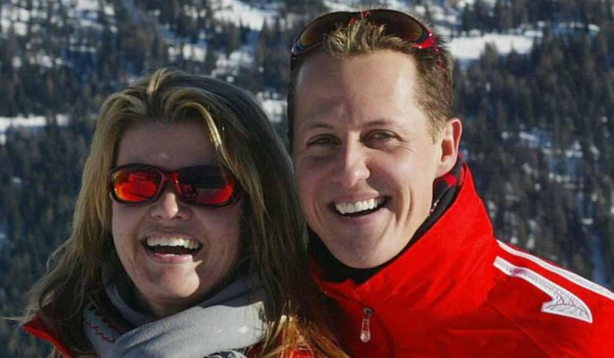 Michael Schumacher e la moglie Corinne