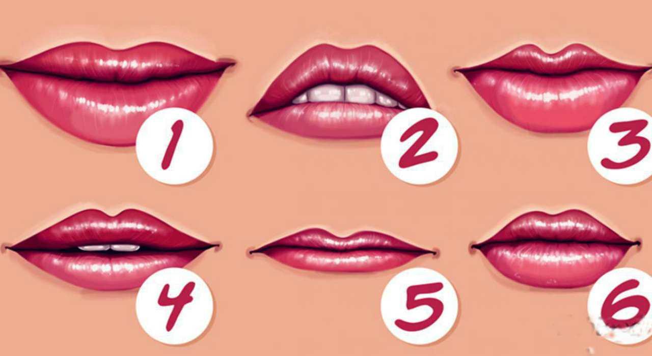 Test personalità labbra